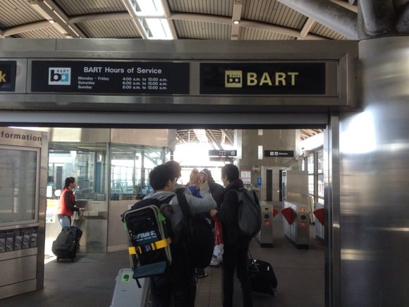 How to board san francisco bart 1