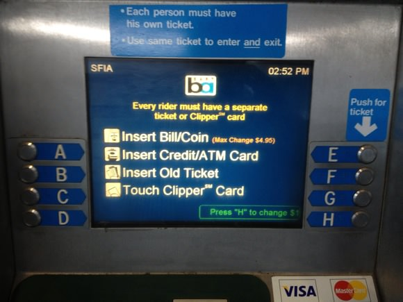 How to board san francisco bart 3