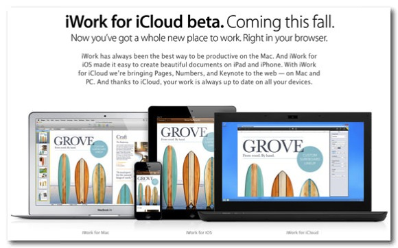 Iwork for icloud with windows or internet explorer 1