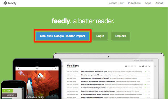 Substitute for google reader comparison 1