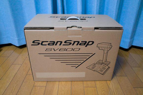 Scansnap sv600 setup 1