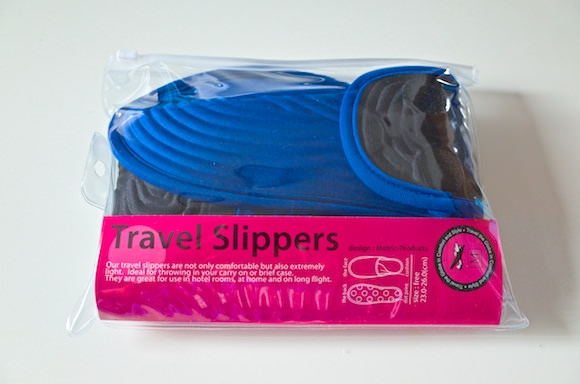 Travel slippers 1