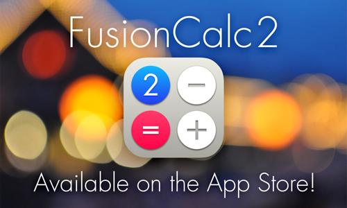 FusionCalc2:「計算メモ」ができて超便利!なiPhone計算機アプリ。しかも無料!