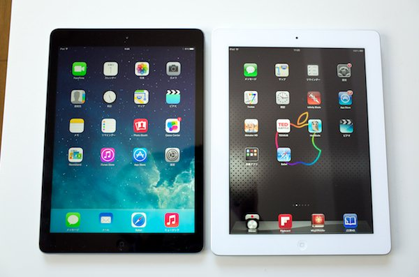 Ipad air comparison 1