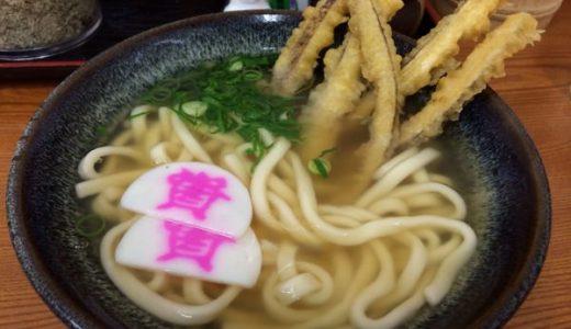 北九州の定番うどんチェーン「資さんうどん」ダシのきいたモチモチうどんにサクサクごぼ天が美味し。