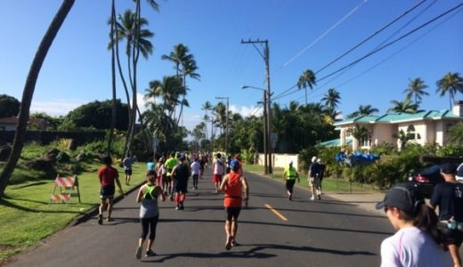 【ホノルルマラソン2013体験記(後)】スタート〜ゴールまで。暑さと路面対策が重要!