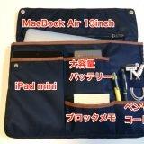 バッグインバッグ「Bizrack」13インチのパソコンに小物やペンもスッキリ収納!