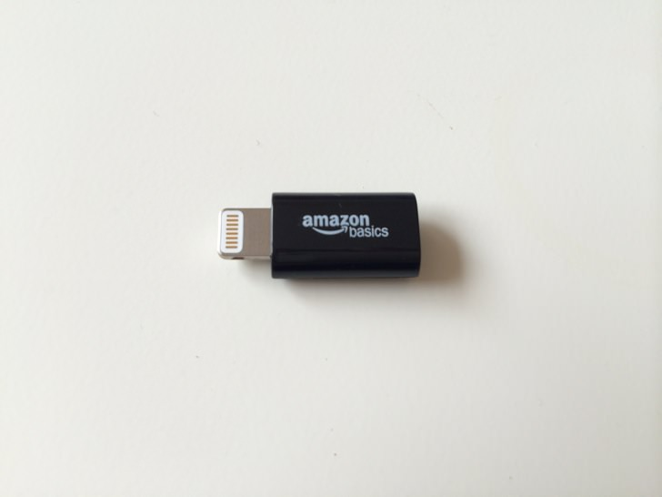 Amazon basics lightning 4