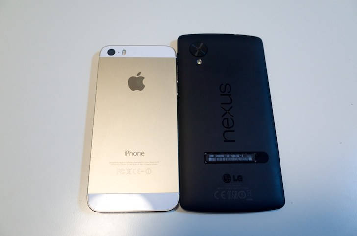Nexus5 iphone5s comparison 3