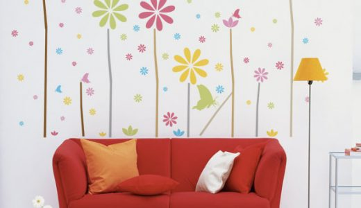 部屋のデザインをもっと楽しめる「ウォールステッカー.com」壁に貼るホワイトボードも!