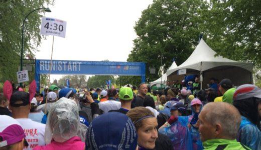 毎年5月に開催されるバンクーバーマラソン2014に参加。人も景色も素晴らしかった!