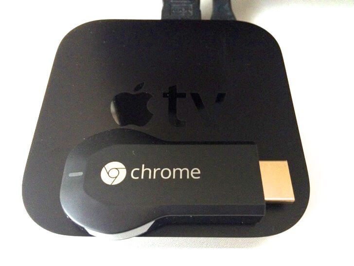 Appletv chromecast comparison title