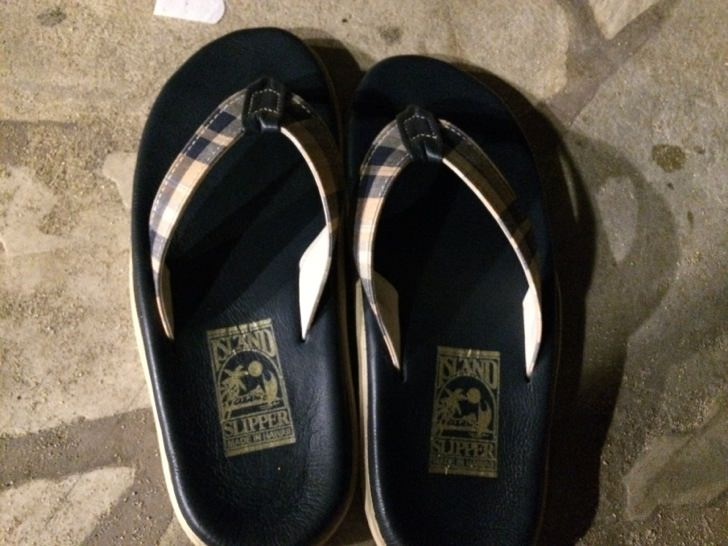 Island slipper 2