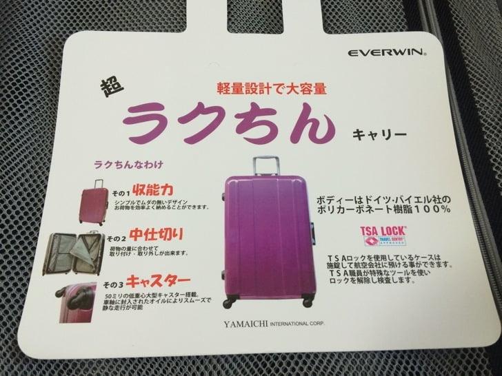 Everwin suitcase 11