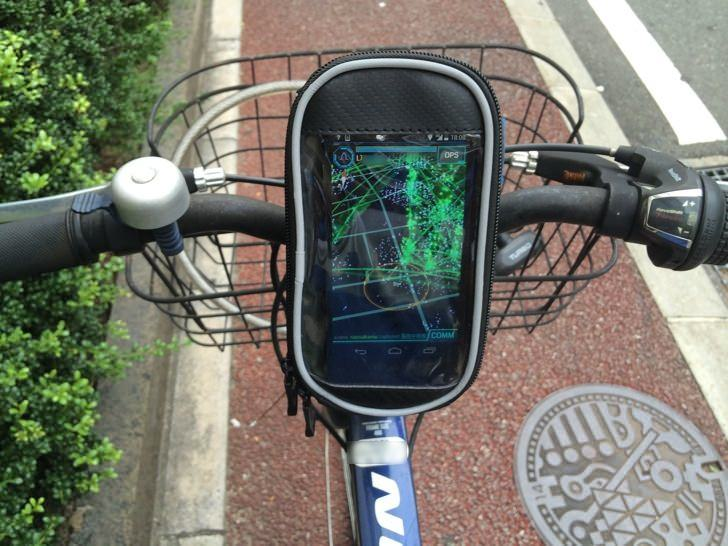 Ingress bicycle smartphone bag 10