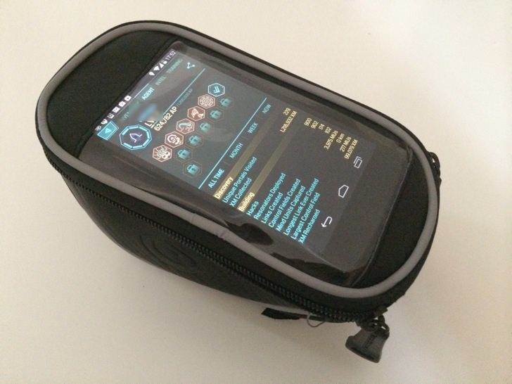 Ingress bicycle smartphone bag 8