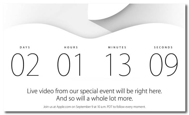 2014 apple iphone event title