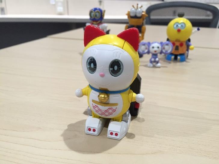 Chogokin chogattai sf robot fujiko f fujio characters 12