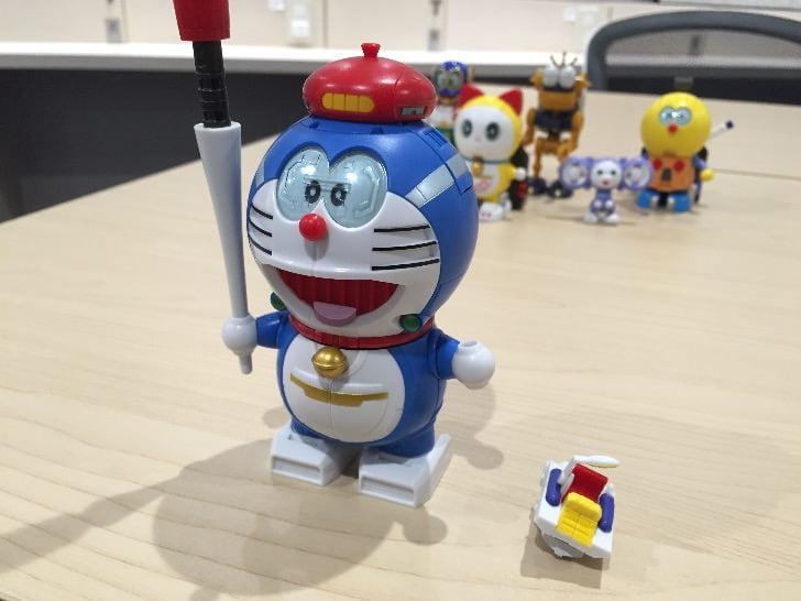 Chogokin chogattai sf robot fujiko f fujio characters 13