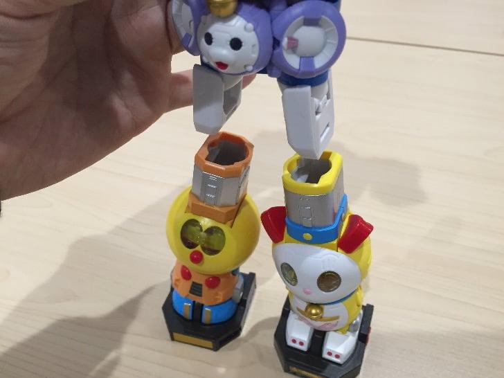 Chogokin chogattai sf robot fujiko f fujio characters 38