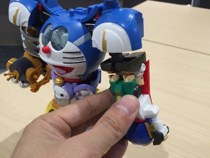 Chogokin chogattai sf robot fujiko f fujio characters 40