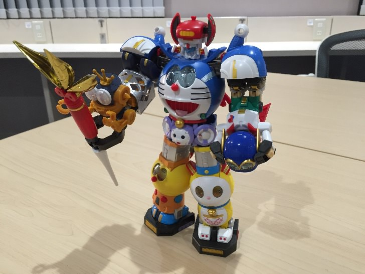Chogokin chogattai sf robot fujiko f fujio characters 44