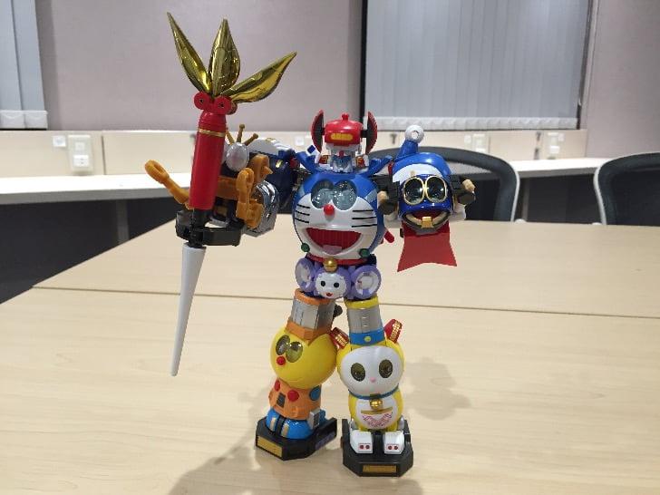 Chogokin chogattai sf robot fujiko f fujio characters 46