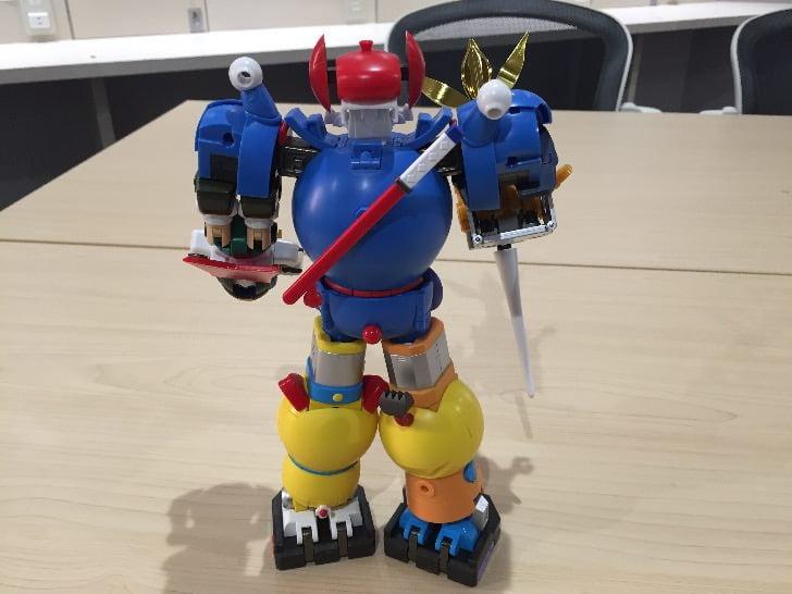 Chogokin chogattai sf robot fujiko f fujio characters 47