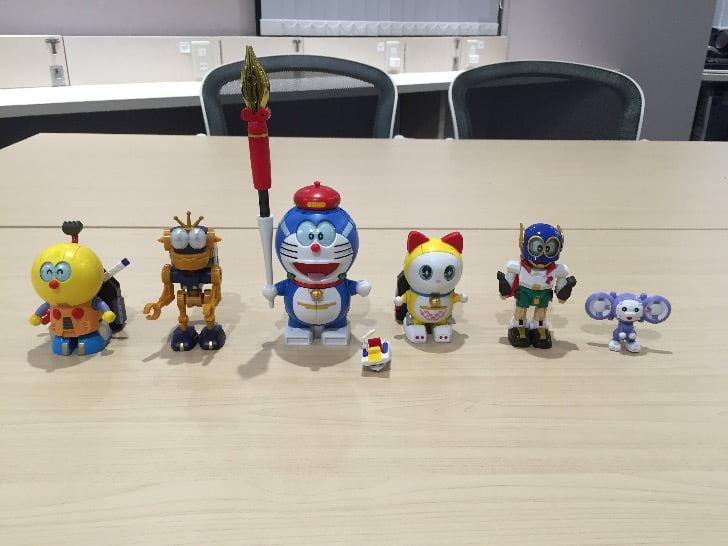 Chogokin chogattai sf robot fujiko f fujio characters 6