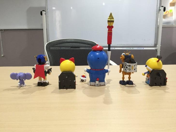 Chogokin chogattai sf robot fujiko f fujio characters 7