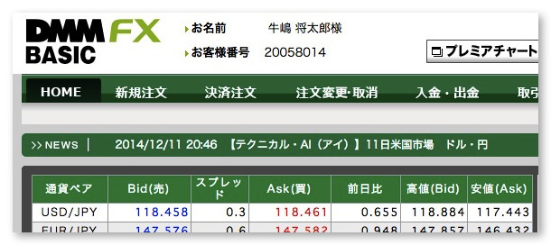 Foreign currency deposit fx 2