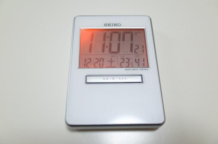 Seiko clock travela 7