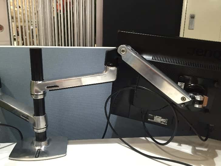 Ergotron desk mount arm 7