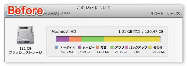 Mac disk clean sonota 6