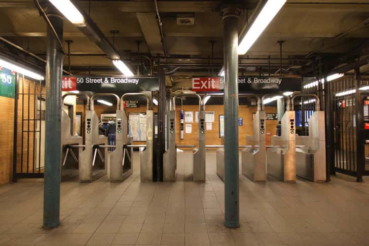 New york subway 5