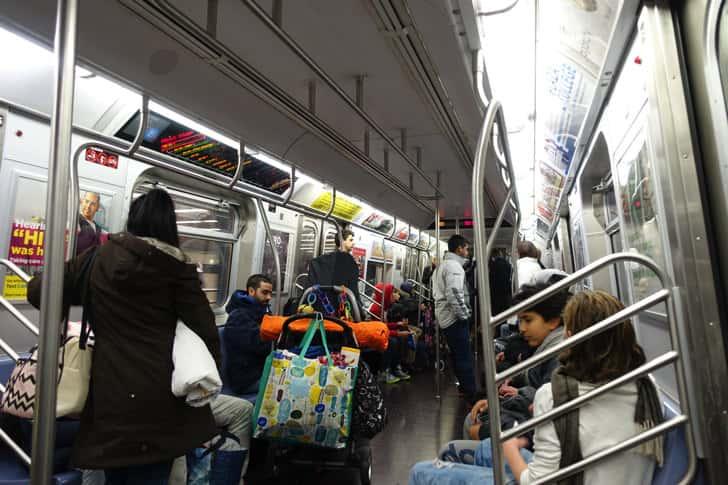 New york subway 6