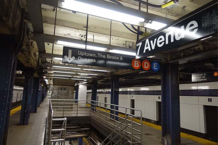 New york subway 7