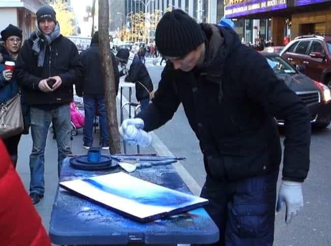 Newyork spray art 1