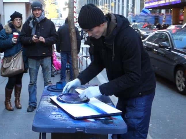 Newyork spray art 2