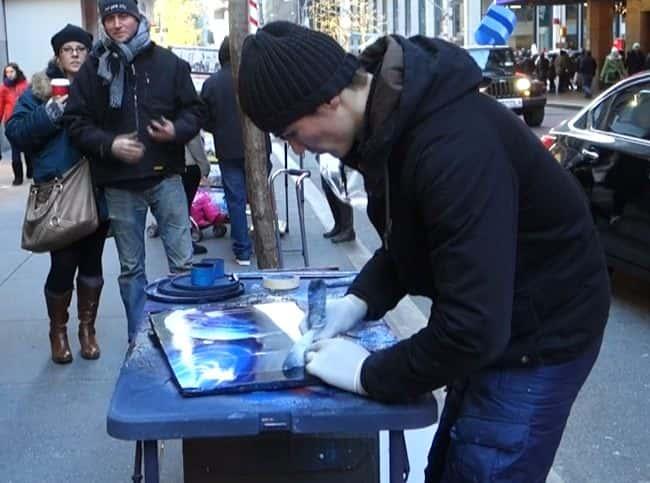Newyork spray art 4