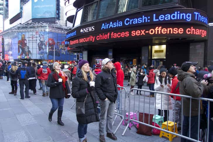 Ny timessquare countdown pictures 1