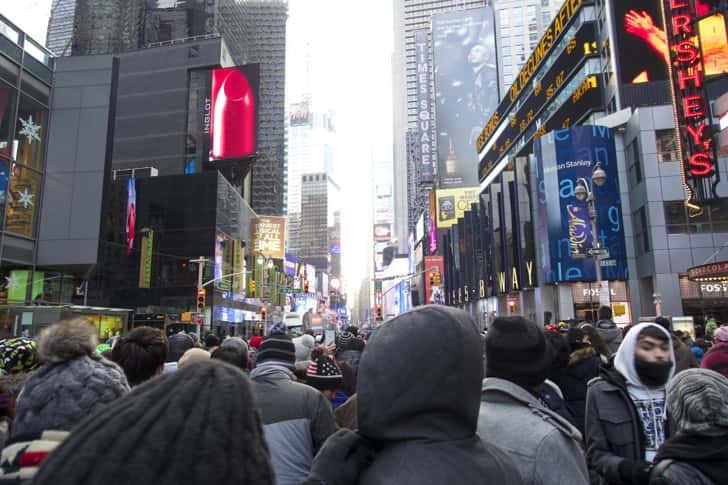 Ny timessquare countdown pictures 12