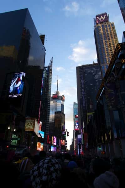 Ny timessquare countdown pictures 16