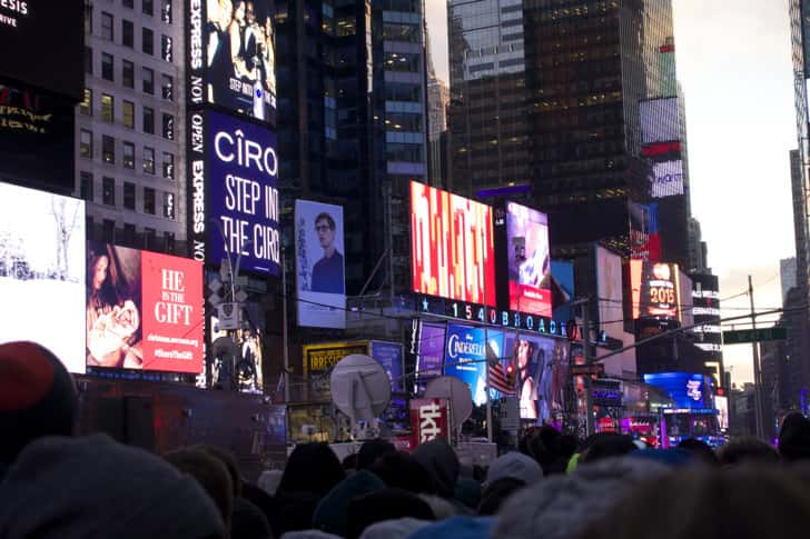 Ny timessquare countdown pictures 18