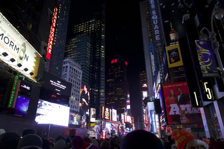 Ny timessquare countdown pictures 20