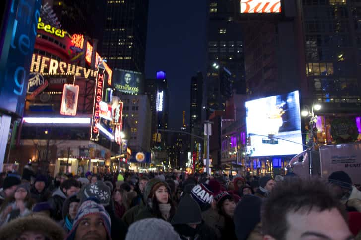Ny timessquare countdown pictures 21