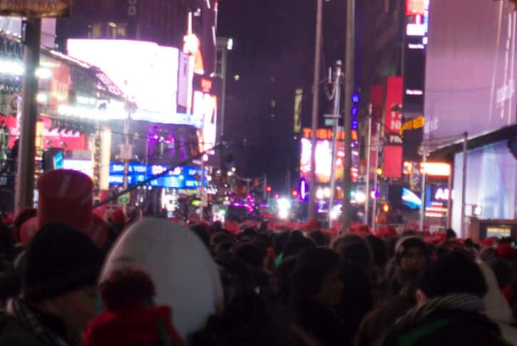 Ny timessquare countdown pictures 22