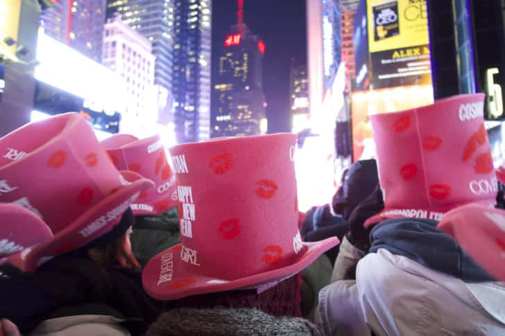 Ny timessquare countdown pictures 23
