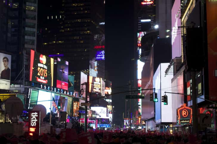 Ny timessquare countdown pictures 27