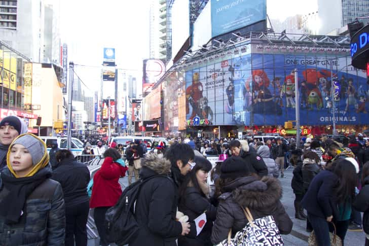 Ny timessquare countdown pictures 3